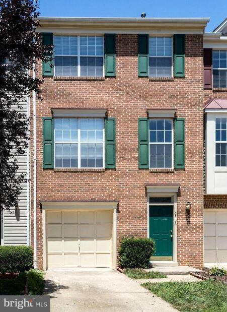 """Brick town home with garage,large master bedroom with walk-in closet and dual vanity master bath,deck,Hvac 2012,like new ss appliances,cleaned carpet,fire place move in ready Sold """"AS IS"""""""