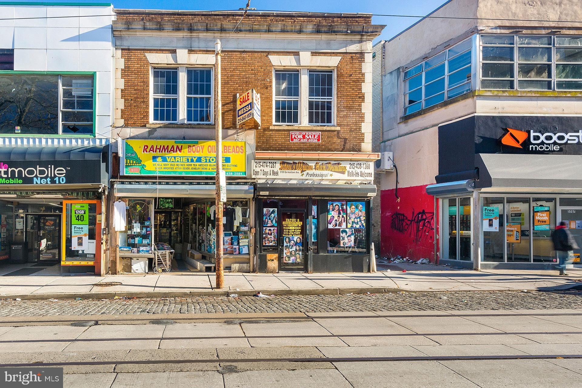 5709-11 GERMANTOWN AVENUE, PHILADELPHIA, PA 19144