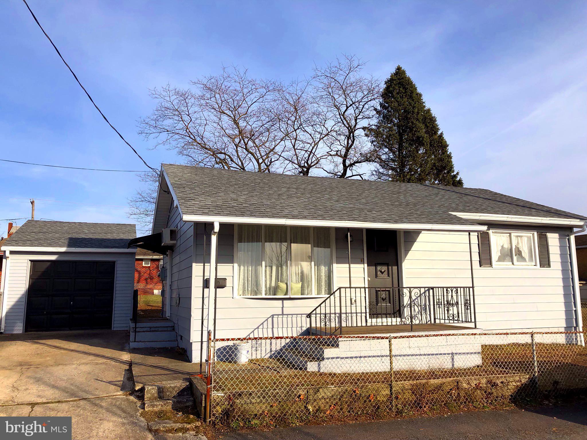 211 BELL ALLEY, FRACKVILLE, PA 17931