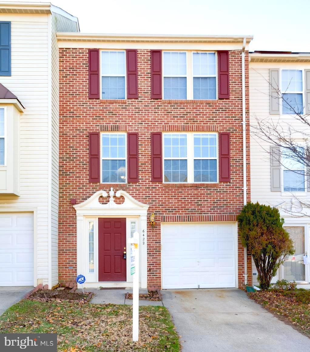 LOCATION, LOCATION!! Easy access to I-495, I-395, I-95, and HOA provided Rush hour shuttle to Franconia Metro Station! Welcome to this FRESHLY painted, spacious and sun-filled, three-level, brick-front, one-car garage with driveway townhome in the Japonica community. Recent upgrades such as newer  (less than 3 years old) HVAC, A/C unit and Water heater. Gleaming hardwood floors through out stairs, main and upper levels including bedrooms. Recess lighting in living and dining area. Spacious, sun-filled kitchen, with kitchen island and room for breakfast table, french doors leading to deck (in process of being painted) for enjoyment and entertainment. Ceramic tile in kitchen, bathrooms, foyer and throughout lower level. Half-vaulted ceiling in master bedroom, and walk-in closet. Cozy fireplace, rec. room and fenced in patio in lower level.  Close to Franconia Metro Station and easy access to  I-495, I-395, I-95. Minutes away from Kingstowne and Springfield Town Center for shopping, dining and entertainment! Community amenities include: pool and club house. Enjoy Park, tot lots, tennis courts, and trails all within walking distance.