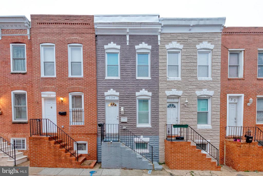 Well Maintained 3 bedroom 2 bath home on quiet street 1 block from Patterson Park.   Newly renovated.