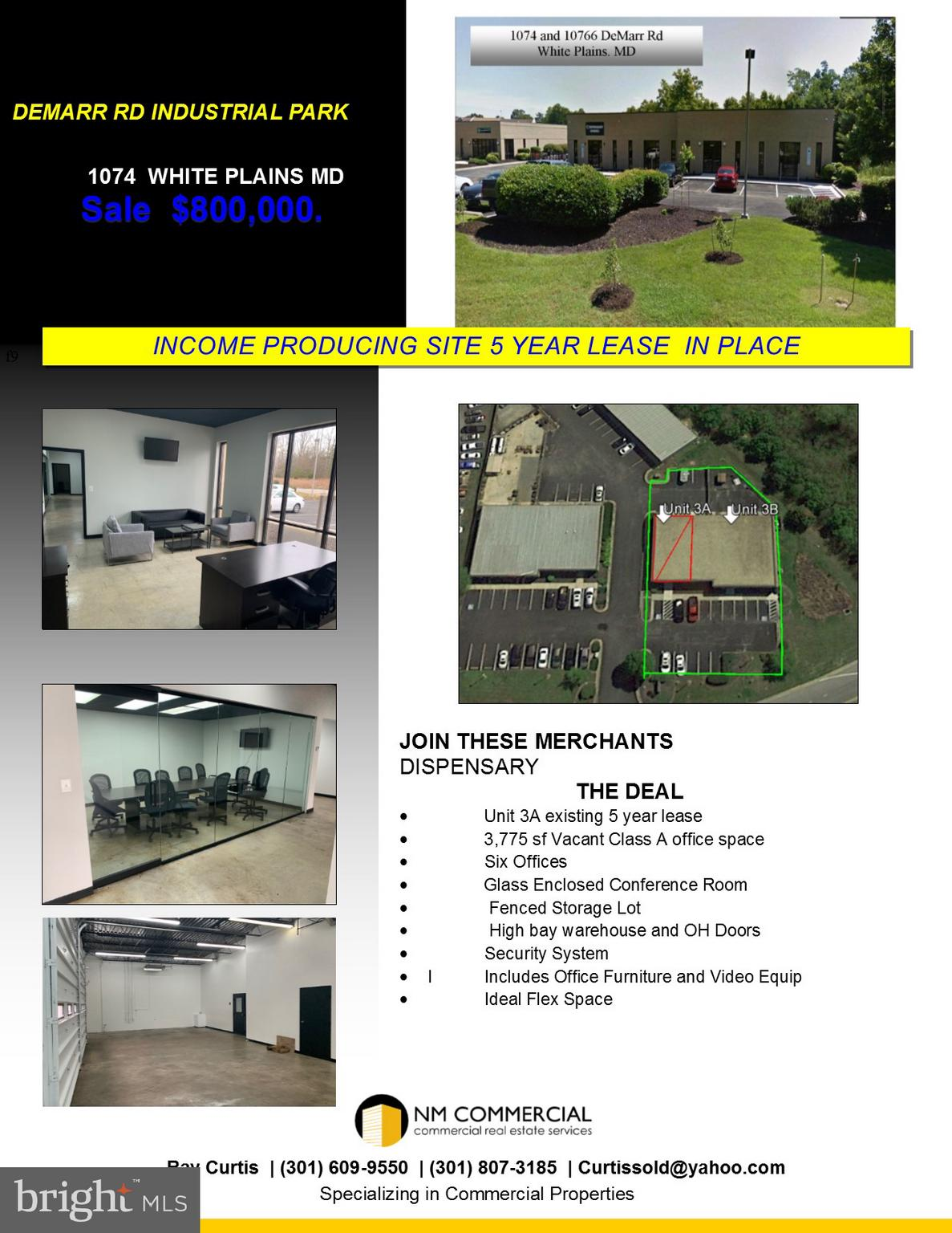 10764 10766 DEMARR ROAD 3A  AND 3B, WHITE PLAINS, MD 20695