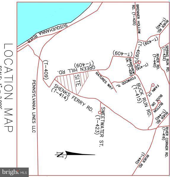 GREEN HILL ROAD, CONESTOGA, PA 17516