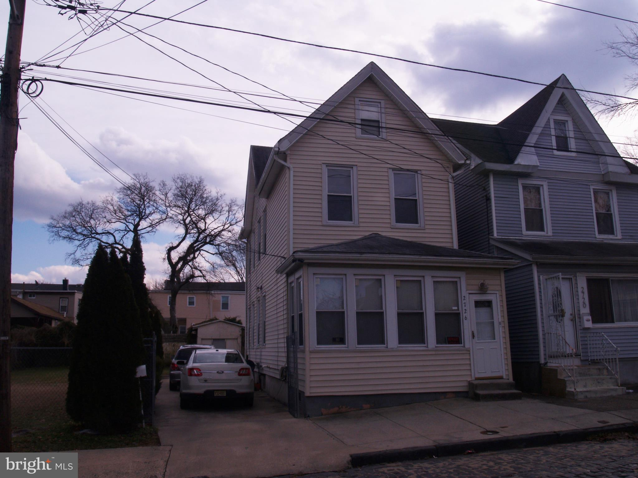 2726 GARFIELD, CAMDEN, NJ 08105