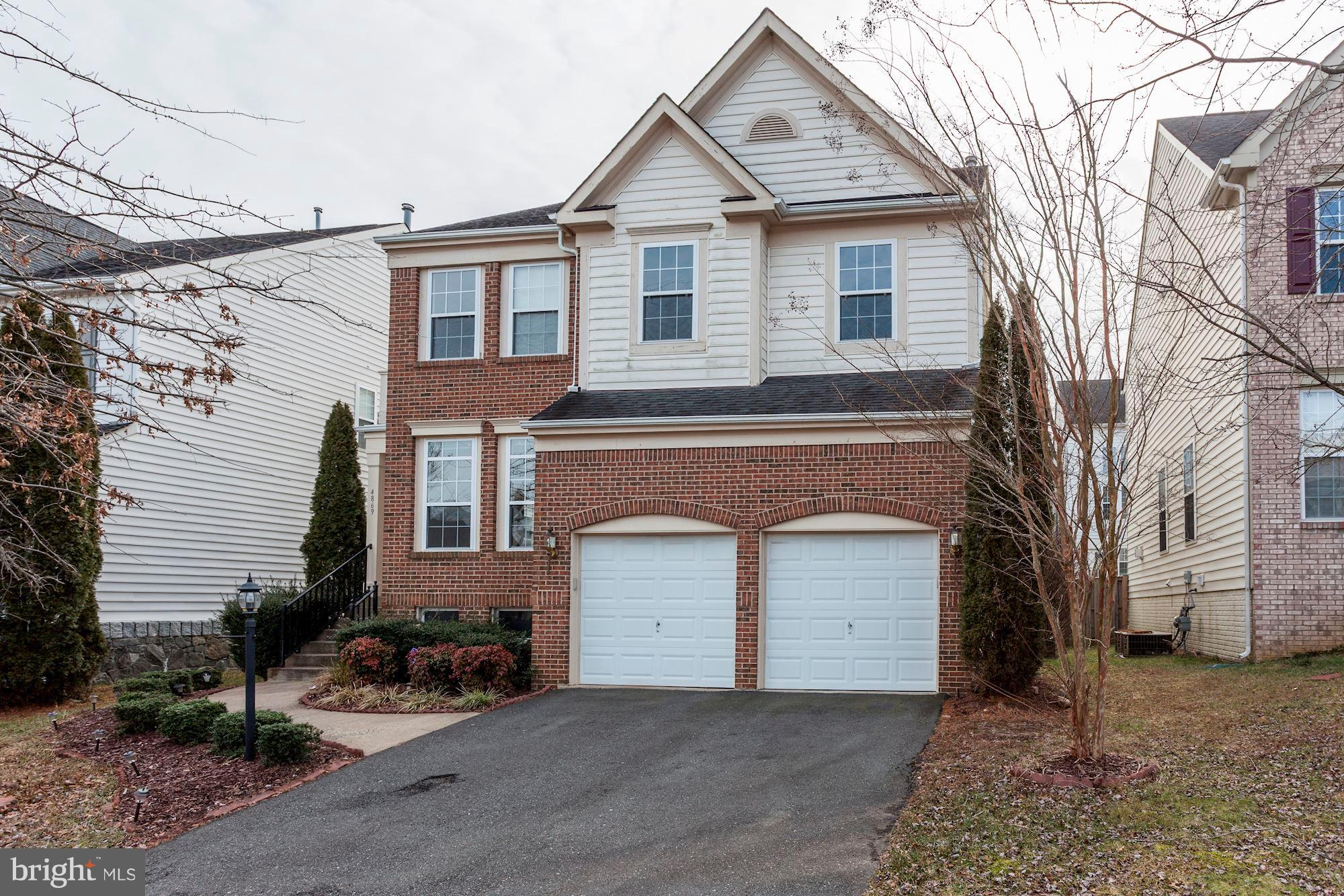 """Soaring 2 story family room, super master suite with fabulous walk in closet.  Laundry rooms on upper and lower levels.   Three finished levels 4th bedroom NTC.  Laundry on both upper and lower level.  Selling. Owner will not make upgrades to interior, shows well but """" as is""""!"""