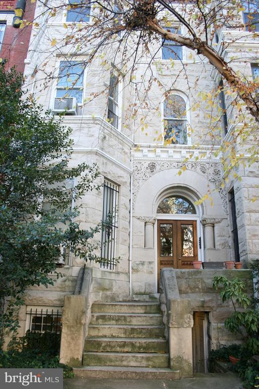 We have a 6-unit townhouse with Victorian-styled stone facade in the heart of DuPont Circle, between 17th and 18th on Q St. NW. Excellent for developers, investors, and homebuyers! 4 studios on second & third levels, 1BR on main level and 1BR on garden level. 4-car tandem parking in the rear. Just two blocks from the north DuPont Circle Metro entrance and half a block from the 17th Street commercial strip with restaurants, shops, and theater around the corner. Amply sun-lit, carpeted, in-house laundry on the garden level.  Easy walking distance to the S1, S2, S4, G2, N2, N4, N6, 305, 325 bus routes. All units are currently tenant-occupied.  Sold in AS-IS condition.