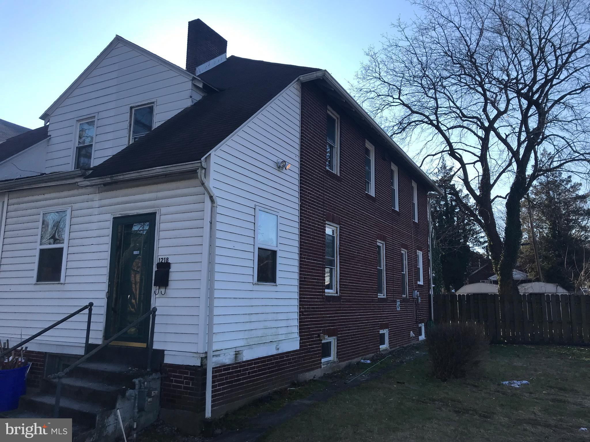 1218 N 17TH STREET, HARRISBURG, PA 17103