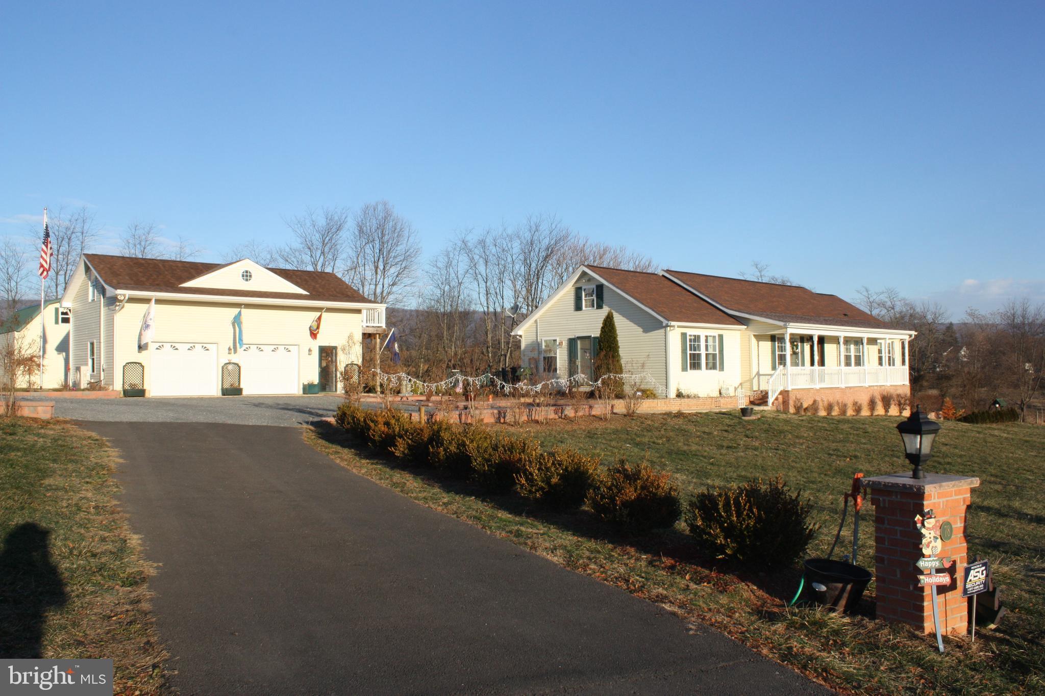 78 CLOVERDALE LANE, WOODSTOCK, VA 22664