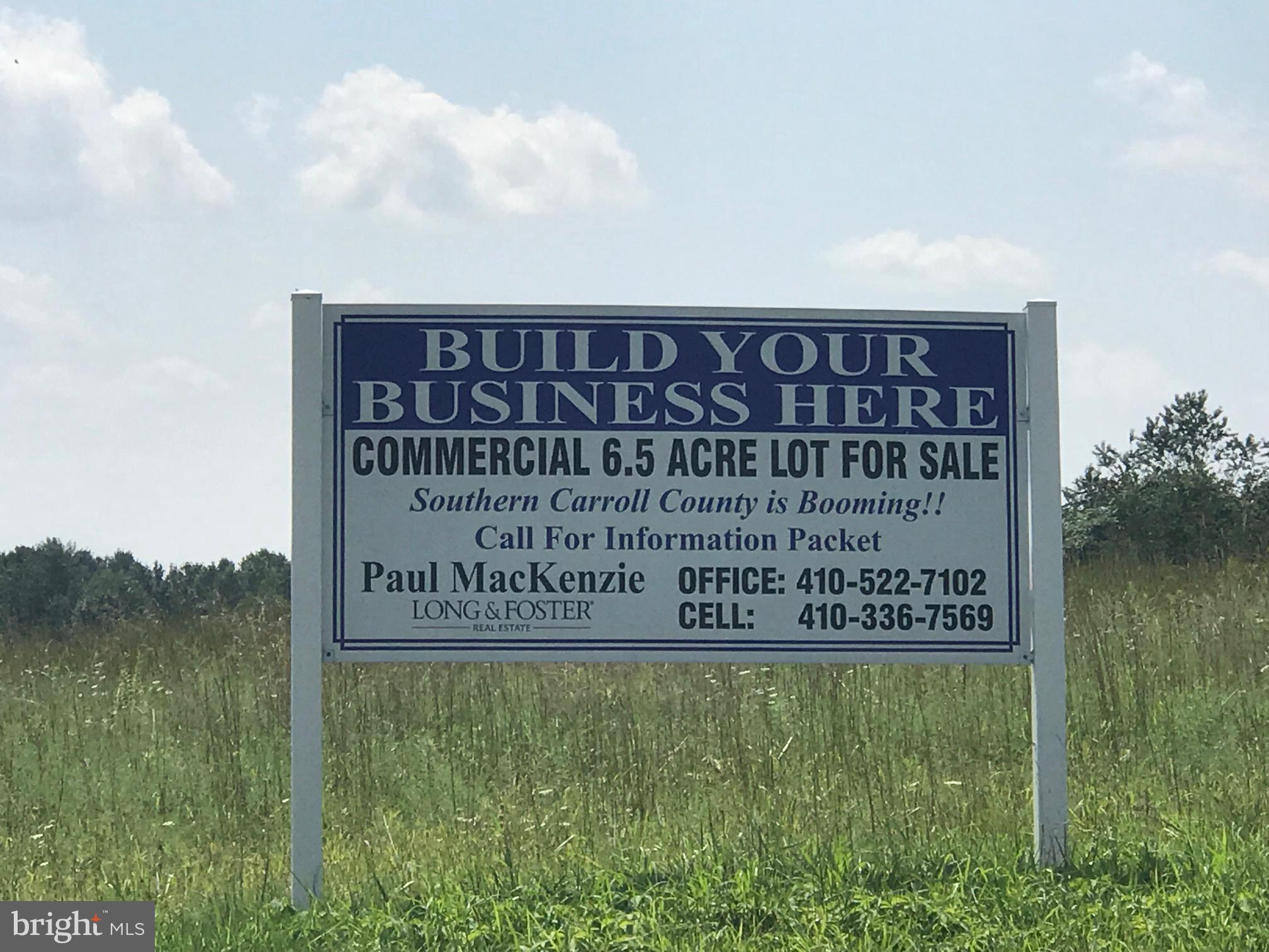 LOT 20 LIBERTY ROAD, SYKESVILLE, MD 21784