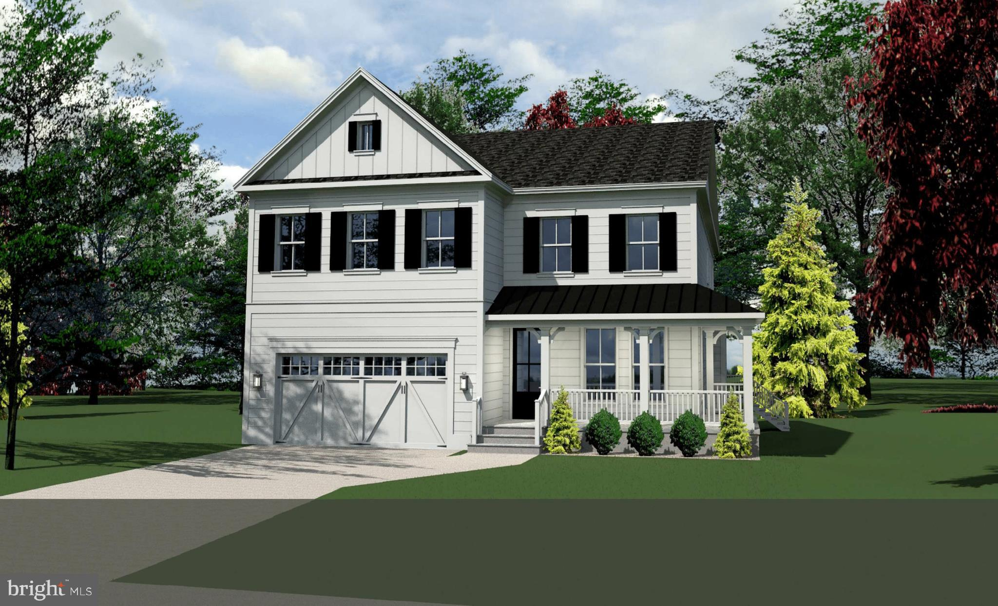 New construction in sought-after Wellington/ Waynewood Elementary.  Expected Delivery July 2019.    Welcome home to this stunning wrap around porch on beautiful 1/4 acre lot.  5 bedrooms + office and sitting room/room sized walk in closet.  Open concept main level, laundry room on bedroom level, mudroom, pantry, kohler fixtures, high-end appliances. Asking price reflects main and upper levels finished+ partially finished basement. Additional~ upgrades and options available (screened in porch instead of deck, wet bar in basement, finished gym)