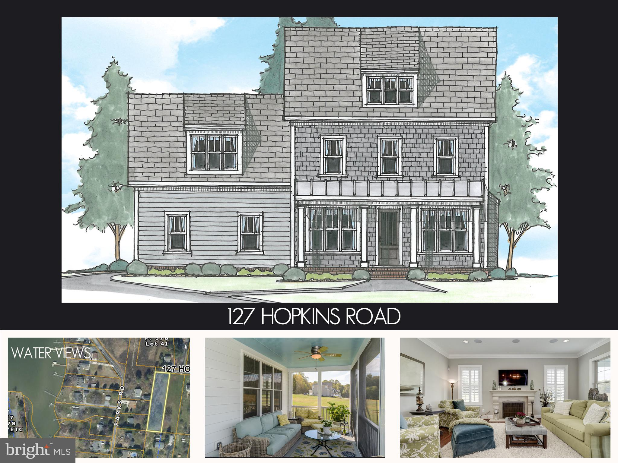 127 HOPKINS ROAD, CHESTER, MD 21619