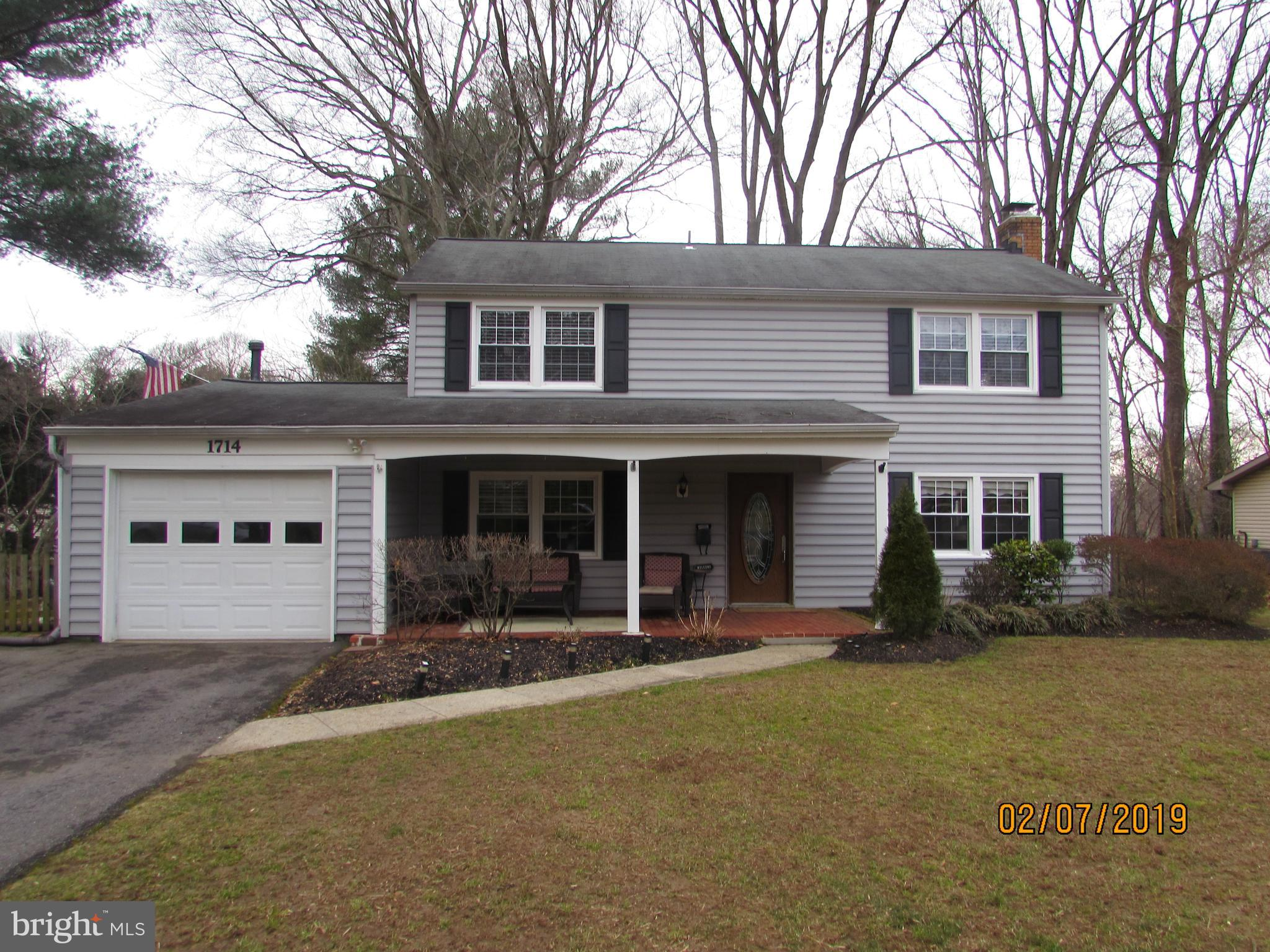 1714 SPRING GREEN AVENUE, CROFTON, MD 21114