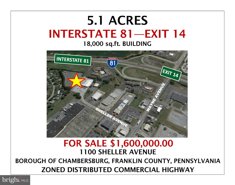 1100 Sheller Ave, Chambersburg, PA 17201, MLS #PAFL159324 - Howard Hanna