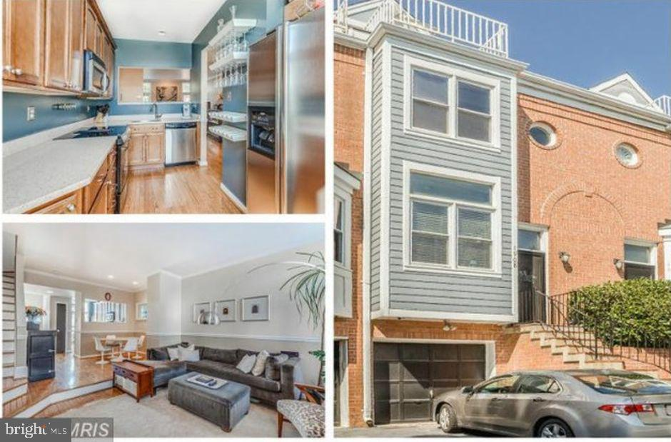 3BR / 3.5 BA plus basement den w/ great floor plan. Spacious, light and bright, high ceilings and big windows. Short walk to Courthouse metro and key bridge. Extremely well maintained townhouse - neutral colors, granite and Jenn Air SS range in kitchen, oversized garage and more. Wood floors on main level with walk-out to patio and landscaped and fenced yard. Recently remodeled master bathroom.