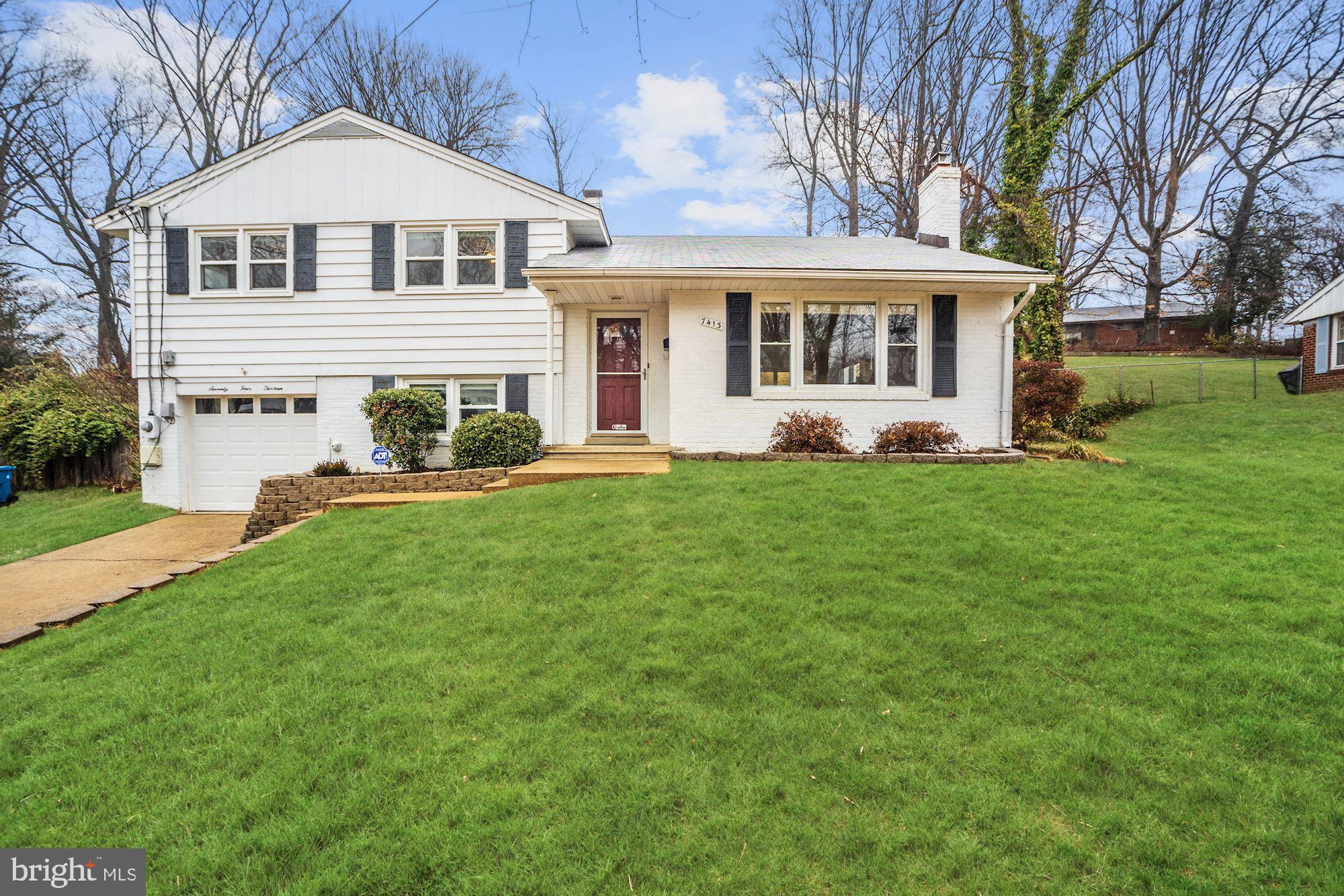 OFFER DEADLINE 3/7/2019 AT 9PM. Welcome home to this move-in ready split level detached home in the heart of Springfield.  This home boasts a beautiful new kitchen and bathrooms. The roofing and windows have been replaced in the last few years. Enjoy the outdoors with the fantastic new hardscape patio and fenced-in yard.  New garage door and opener in place.   Great commuting location next to the Mixing Bowl with easy access to Interstate 95, the Capital Beltway (495) and 395.  Easy access to Lake Accotink Park and amazing shopping/dining options very nearby.