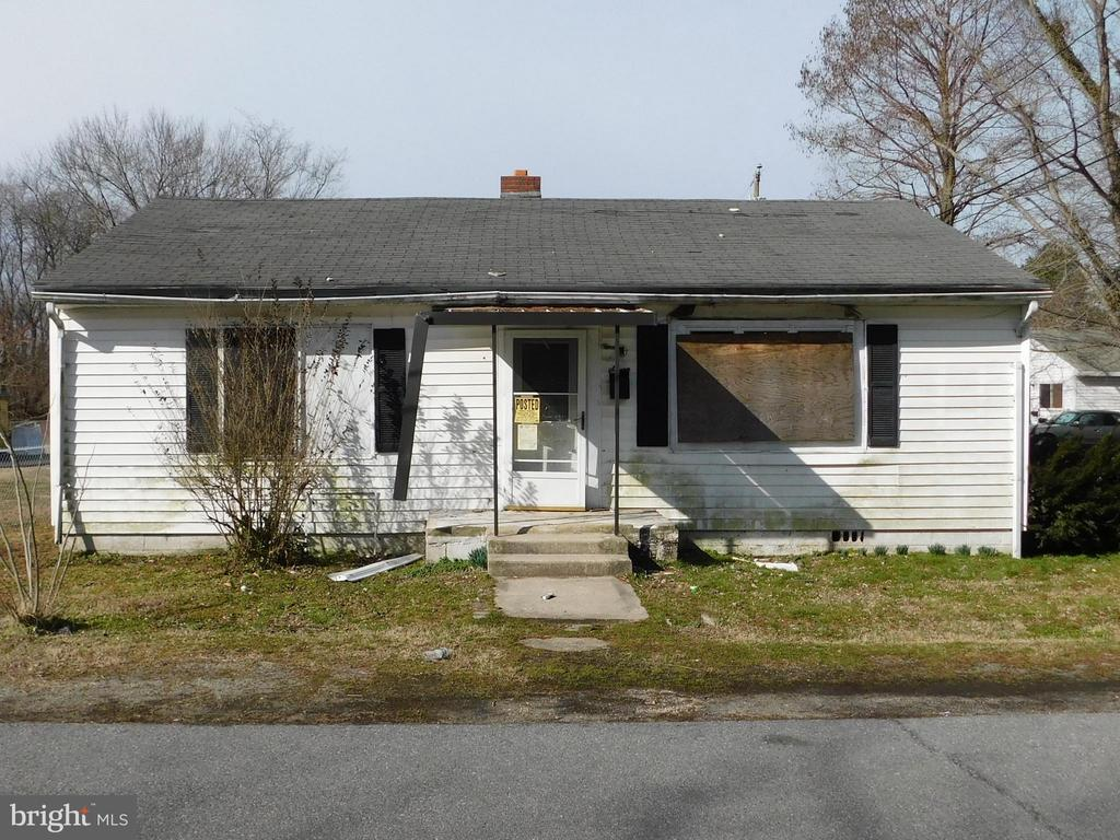 "Property sold ""as is"".  All remaining fixtures and building material on site are included. House was gutted and repaired. Framing is complete. Permitted. Great opportunity to finish it your way - flip, keep, rent."