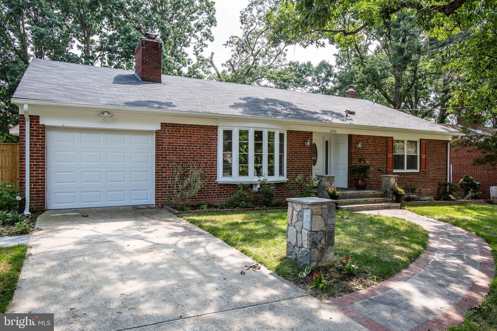 Newly renovated home with over 3600SQFT, gourmet kitchen, gleaming hardwood floors, fully finished basement, updated bathrooms, fully fenced rear yard with stone patio.