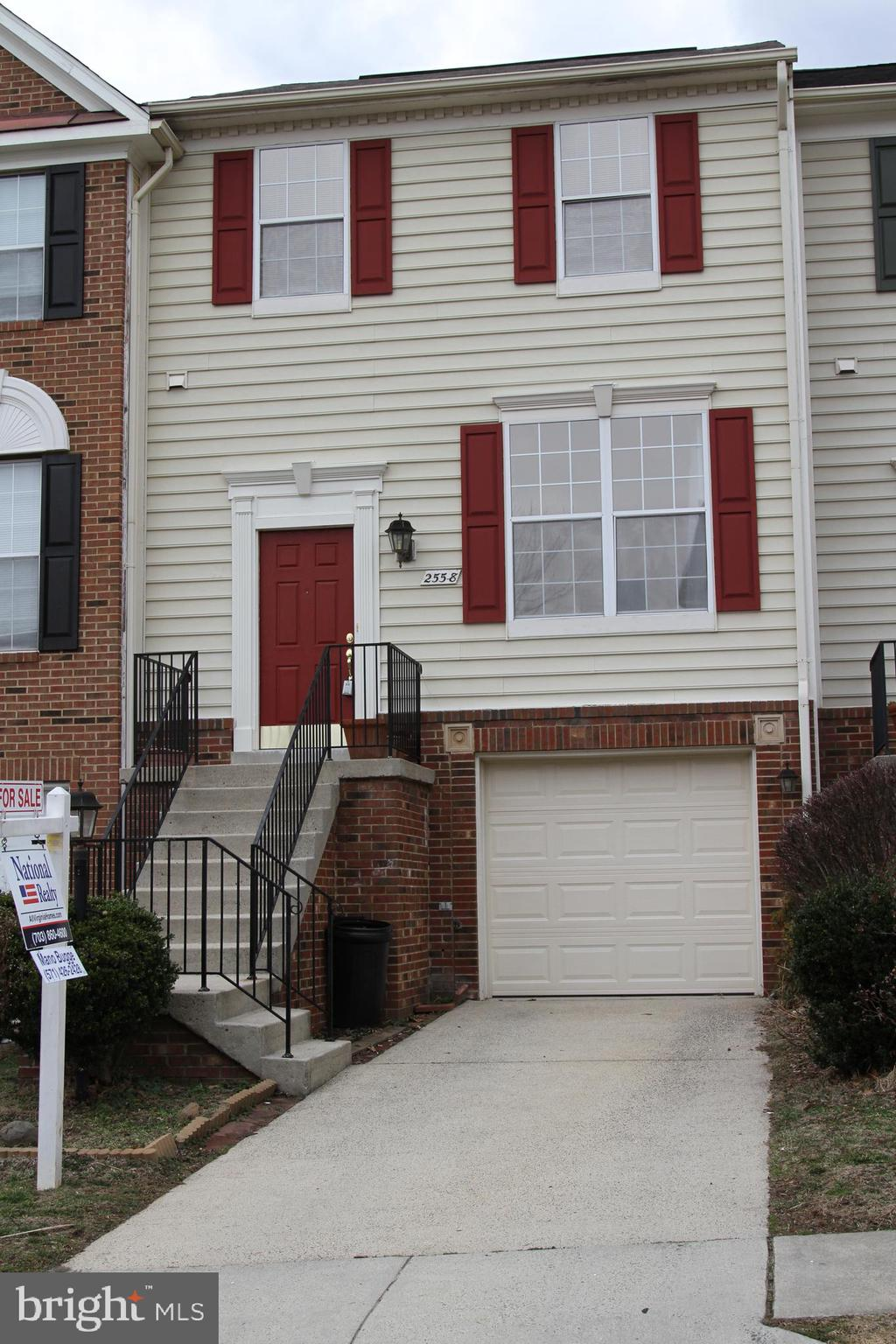 Stunning ready-to-move-in 3 level townhome in MCNAIR FARMS with the land area of 1837 sqft and total finished area of 2200 sqft. 3 bedrooms, 2 full baths and 2 half baths. Main Level and upper level - Hardwood floors, Lower Level - Carpet. Granite countertops in kitchen, high ceilings in the main level. Full-size deck beside the kitchen/ breakfast area on the main level and finished walkout patio in lower level with the fenced backyard. 1 Car Garage, concrete driveway for additional parking and one reserved parking spot. New Lennox A/C,  New Water heater, Stainless steel Refrigerator/ Stove-Range/Microwave/Dishwasher, Ceiling Fans/Washer and Dryer. Very close to Route 28, 267, Dulles Airport and future Herndon-Monroe Silverline metro station.Dulles Toll Rd - Take exit 10 to VA-657 toward Herndon/ Chantilly, Use the left 2 lanes to turn left onto VA-228 S/VA-657, Turn right onto McNair Farms Dr, Turn right onto James Maury Dr, Destination will be on the left.