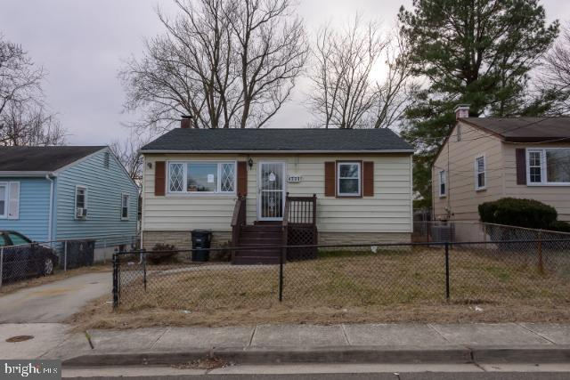 Perfect opportunity for the seasoned investor searching for a property to fully rehab.  Located on a level lot with driveway offer-street parking all within close proximity to DC.