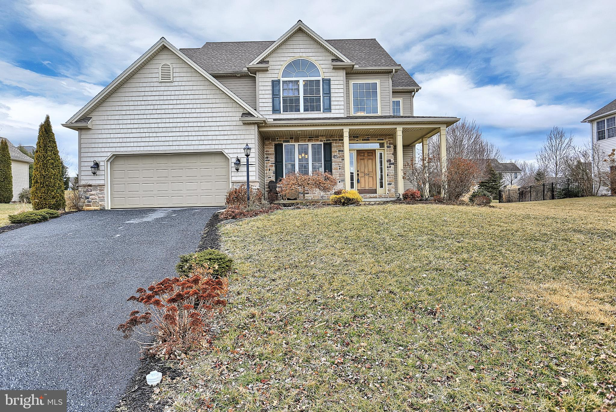 206 EVERGREEN DRIVE, BOILING SPRINGS, PA 17007