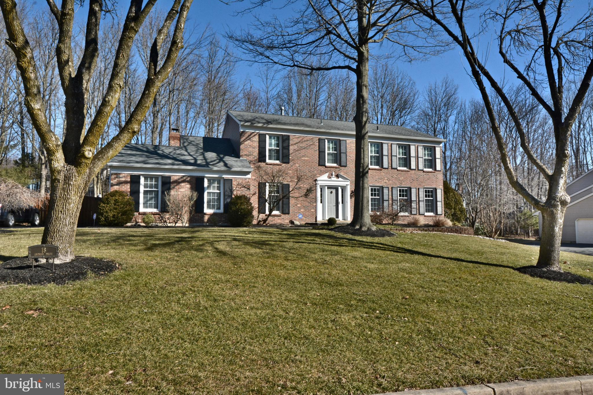 18 ANDREW DRIVE, LAWRENCE TOWNSHIP, NJ 08648