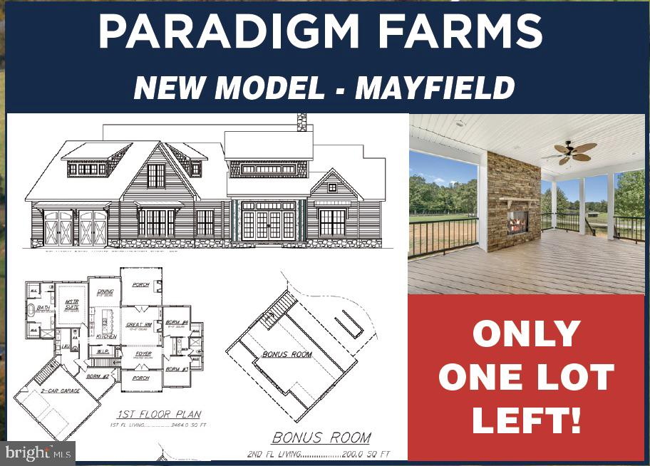 LOT 3 - PARADIGM FARM LANE, WARRENTON, VA 20187