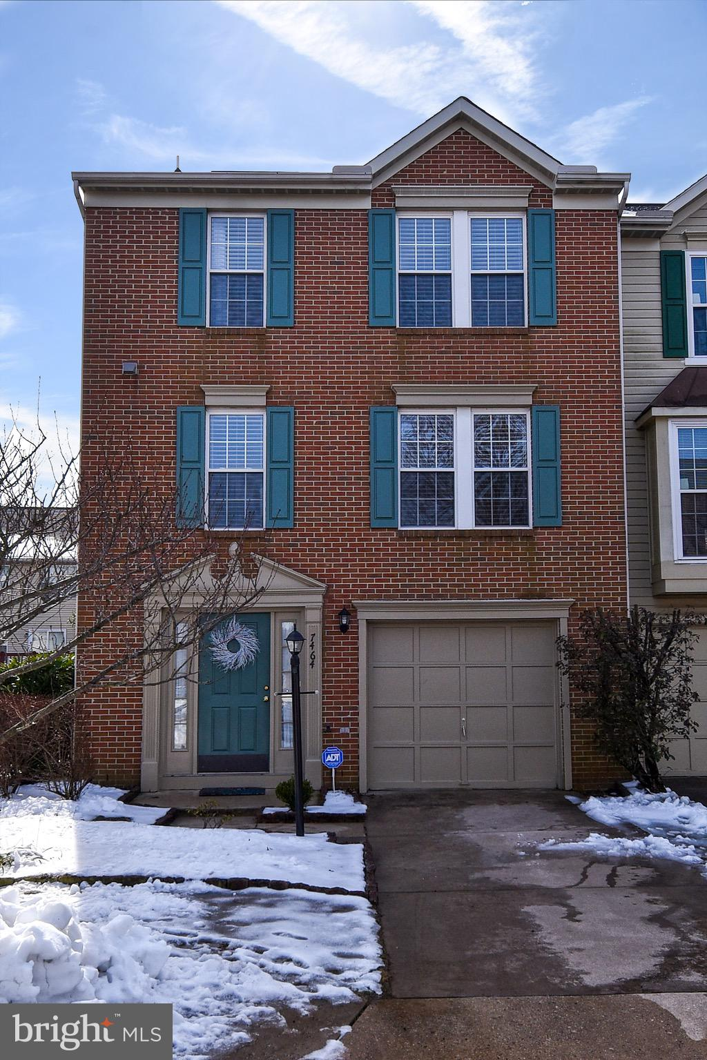 Welcome home to this beautiful 3BR, 2.5BA brick front, end unit townhouse in sought after Kingstowne~large eat in country kitchen w/walkout to sundeck ~perfect for grilling and dining out side. Family Room with plenty of room to come home and relax. New plantation blinds. Large MBR suite with walk-in closet and private full bath ~ Generous LL rec room with gas fireplace (for these cold, snowy nights)  walk out to tastefully landscaped fenced in back yard back with paved patio. Enjoy access to the endless Kingstowne amenities. Minutes to shops and 495 ~ 1 mile from blue line metro. Better hurry! Armoire in bedroom and sideboard in kitchen convey.