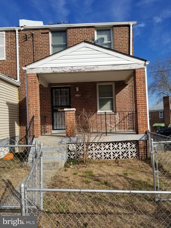 Beautiful end unit row home ready for some TLC from a new owner of investor! Come and see this gem for yourself, conveniently located near Fort Totten Metro Station.
