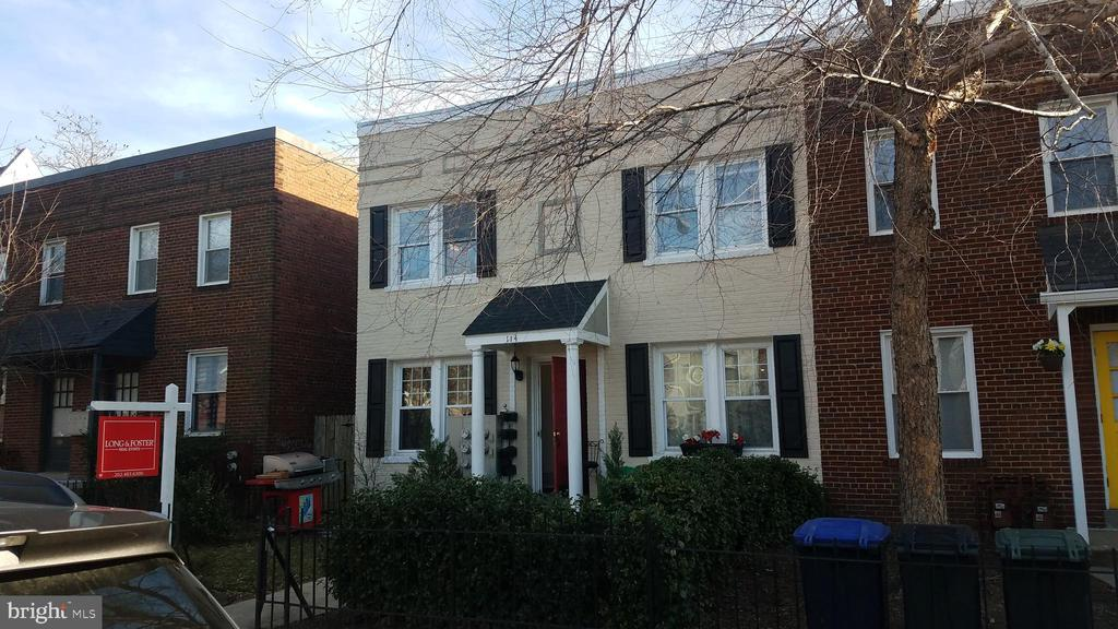Rarely available 4-unit building in red-hot Southwest DC! 2 blocks from Nats Stadium and 6 blocks from DC Wharf. Both gas and electric are separately metered. 2725sf lot may allow for parking in the back. Two of the units are in quite good shape (#1 & #3 on left side), and two units need work due to frozen/burst pipes (#2 & #4 on right side). Hardwood floors throughout. Property is offered completely AS IS. Estate sale. Just 1 tenant. TOPA offer of sale will be given upon contract acceptance. Please do not disturb the tenant in unit #1 (bottom left). Before submitting an offer, be sure to read the Offer Instructions and Information online. OFFERS DUE FRIDAY, 3/8 COB.