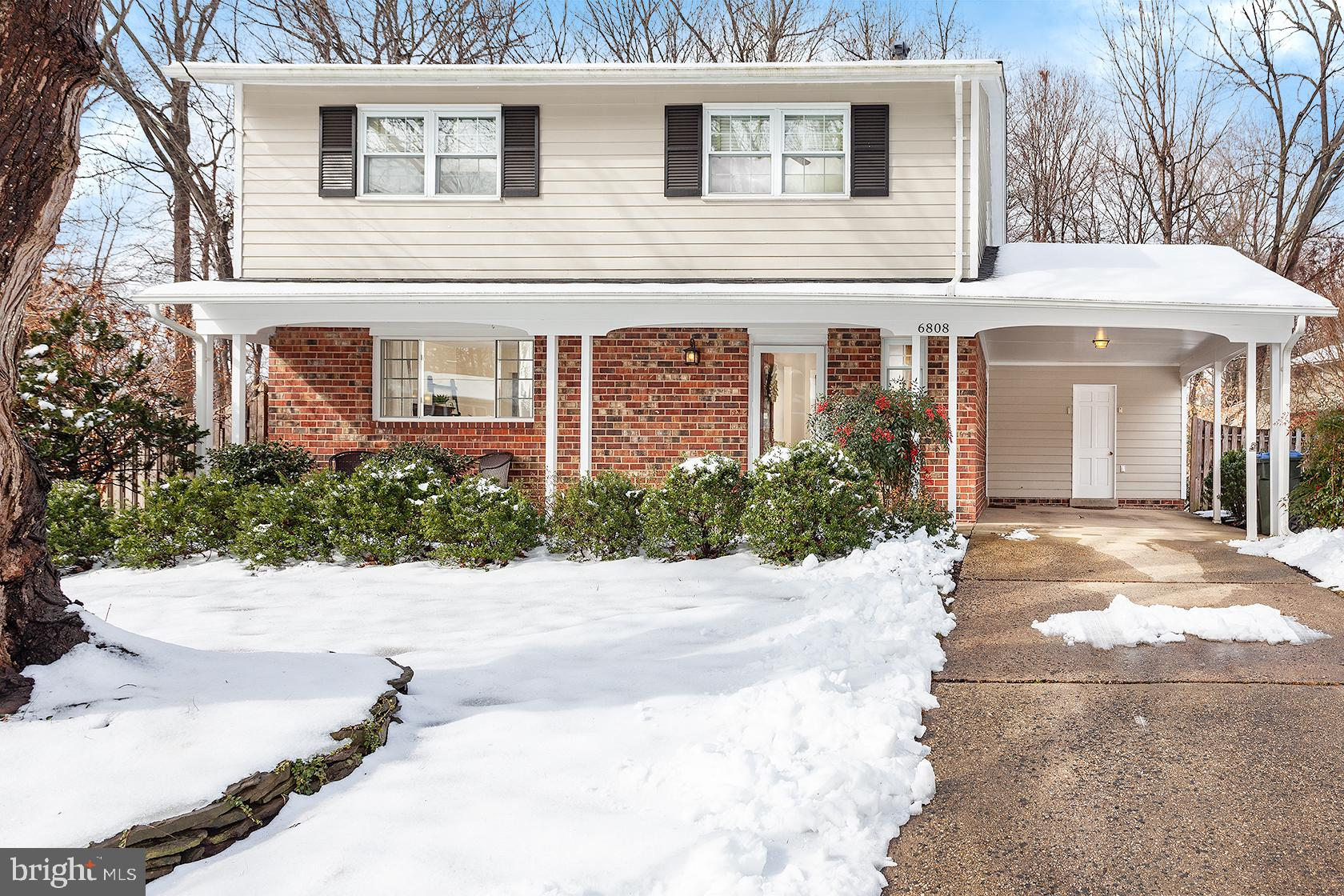 This meticulously maintained three-level home with a functional floorplan is located in the desirable neighborhood of West Springfield Village. The home boasts gleaming hardwood floors, a sun-filled open kitchen with silestone countertops and a beautiful flagstone back patio. Sliding doors open to the back patio from the dining room for entertaining, grilling, or simply relaxing. The basement is foam insulated, making it energy-efficient and comfortable. All four bedrooms on upper level. Large utility room, all baths updated, 2016 new roof, updated 200 AMP electrical panel, 2015 water heater. Only minutes away from the Capital Beltway, 395 and Interstate 95, providing easy access to Washington, DC. A short drive to NGA, Fort Belvoir and Franconia-Springfield Metro. Whole Foods Market and other conveniences only about 1.3 mi away. Hop on the Fairfax County Trail for running and biking. The peaceful neighborhood borders Pohick Valley Stream Park, which connects to Hidden Pond Nature Center. Located in the West Springfield High School pyramid. Walking distance to elementary school.