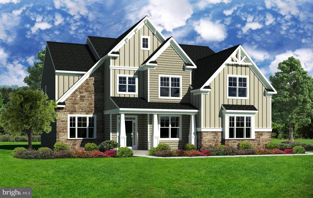 """""""Call to Schedule a Private Appointment!""""  The Rutherford s open-concept design is perfect for those who love to entertain, featuring an expansive great room with volume ceilings, large kitchen with eat-in breakfast area, and side-by-side living room & dining room. A secondary rear staircase offers access to the privacy of the 2nd floor. Upstairs, the luxurious owner s suite is sure to impress with its  private owner s retreat, expansive split-concept walk-in closet, and opulent owner s bath with soaking tub layout. Three additional bedrooms, a Jack and Jill bathroom, and en suite hall bathroom are also located on this level of the home. Discover exquisite single-family estates at Founders Estate, a new construction single-family home neighborhood in Upper Providence Township, Pennsylvania. This intimate neighborhood of 28 single family homes features 4 all-new floorplans that can be customized to fit your unique lifestyle. Home is not built. The photos are representation of  a built home."""