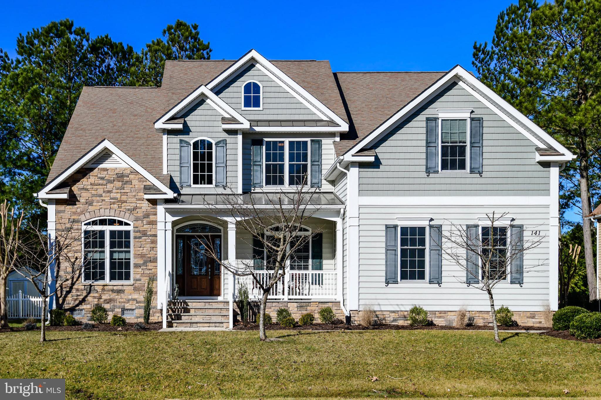 141 PINE FOREST DRIVE, OCEAN PINES, MD 21811