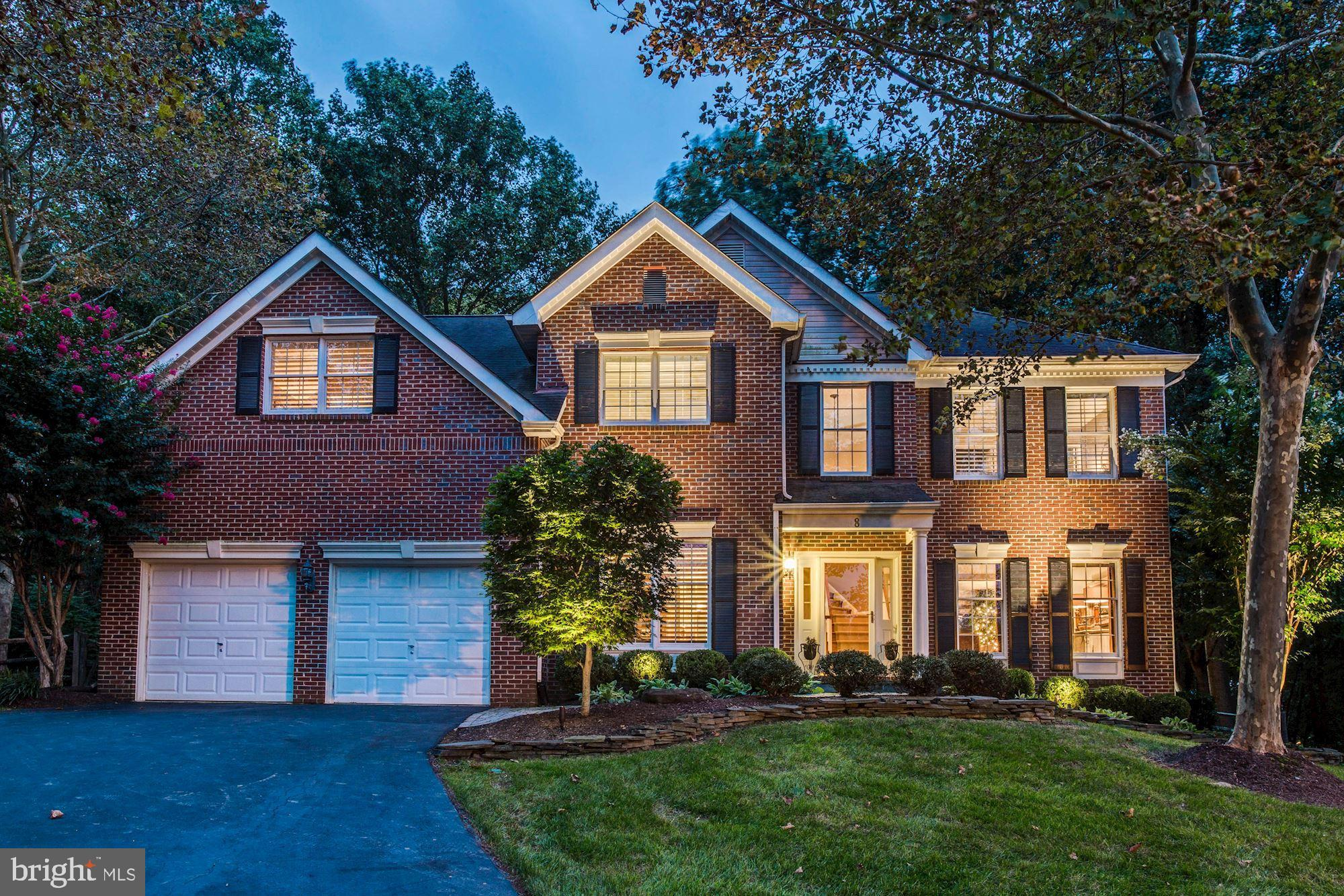 8 DEER TRAIL COURT, GAITHERSBURG, MD 20878