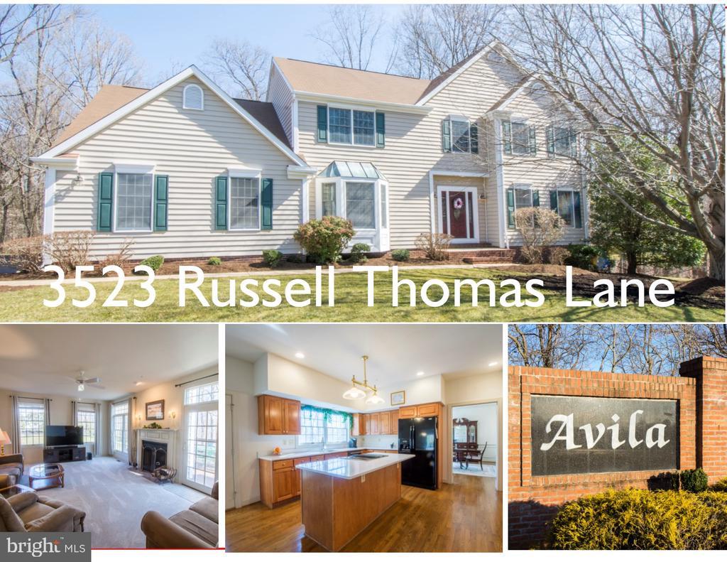 3523 RUSSELL THOMAS LANE, DAVIDSONVILLE, MD 21035