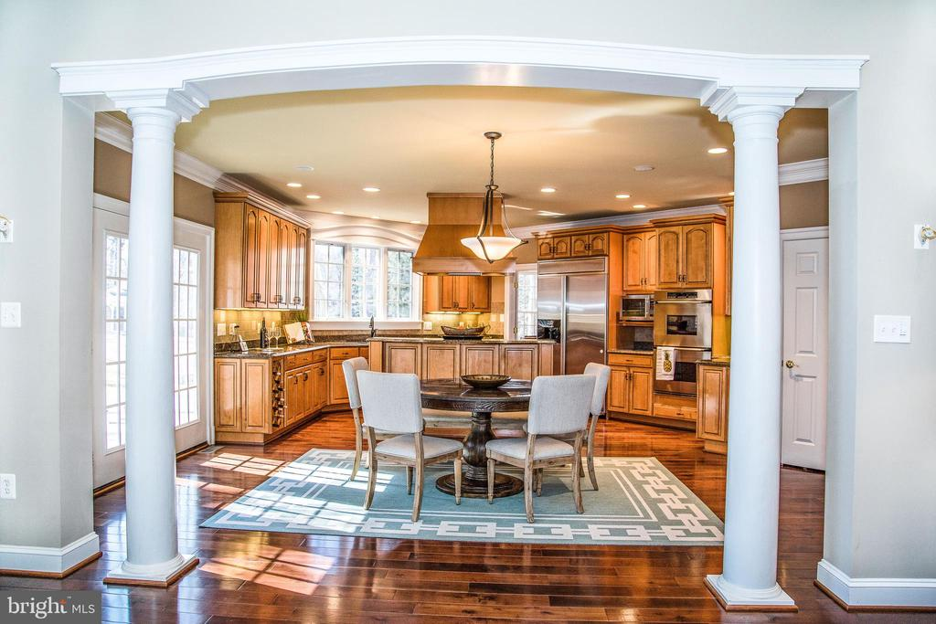 Beautiful colonial sited on private 1-acre lot right near the McLean/Arlington border. Gleaming hardwood floors, open floorplan with incredible light and windows. Private master suite. Lower level walk out with media room and entertaining bar.