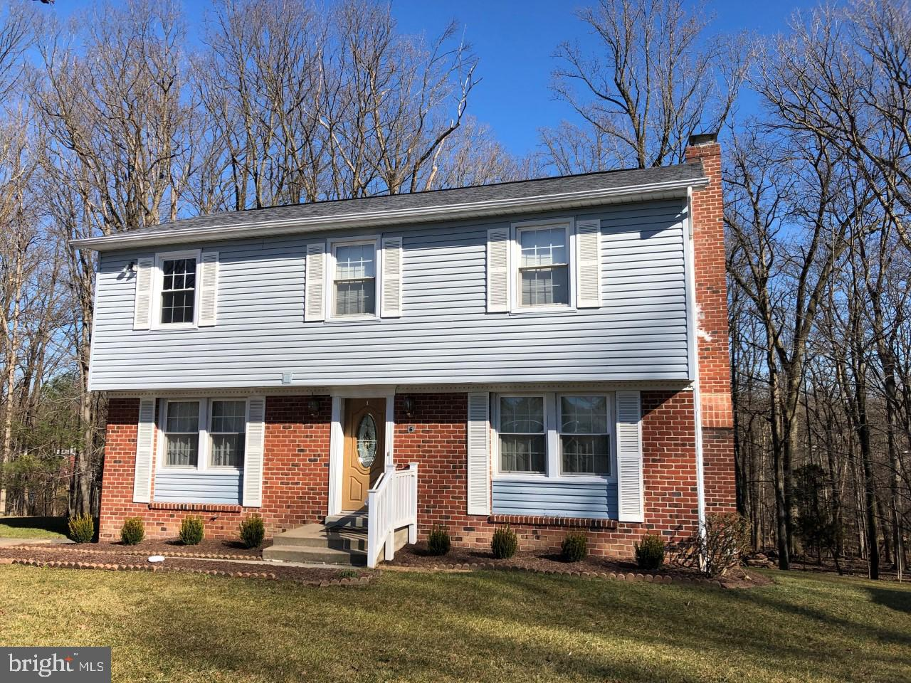 Great home in a great community.  Cul-de-sac location that backs to lush woods.  Huge deck to enjoy the view and two sheds. Updated kitchen and newly (2018) finished basement with wood burning fireplace.  Updated bathrooms.  New AC in 2018. House humidifier.  Four large bedrooms on the upper level and a possible 5th bedroom/office/bonus room in lower level. Community includes open space and a community pool.  The perfect place to call HOME!