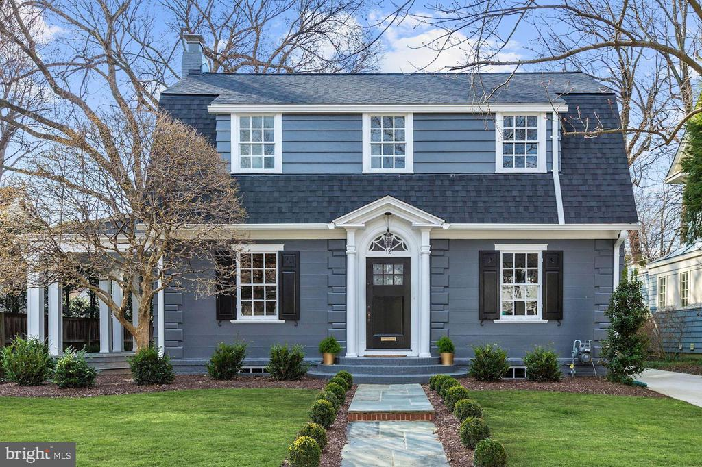 Open Sunday 2-4pm!  Located in prestigious Chevy Chase Village, this 5BR/5.5BA has undergone a COMPLETE renovation. The exterior facade has been maintained for a traditional CC feel.  Stunning high-end finishes throughout. Gourmet, white kitchen, family room with indoor/outdoor gas fireplace, mudroom & formal dining with butler's pantry. Spacious master bedroom with custom his & her walk-in closets. ALL bedrooms have gorgeous ensuite baths. Expansive LL with 5th bedroom. Charming side porch & private yard with storage garage. Home comes with builder warranty.
