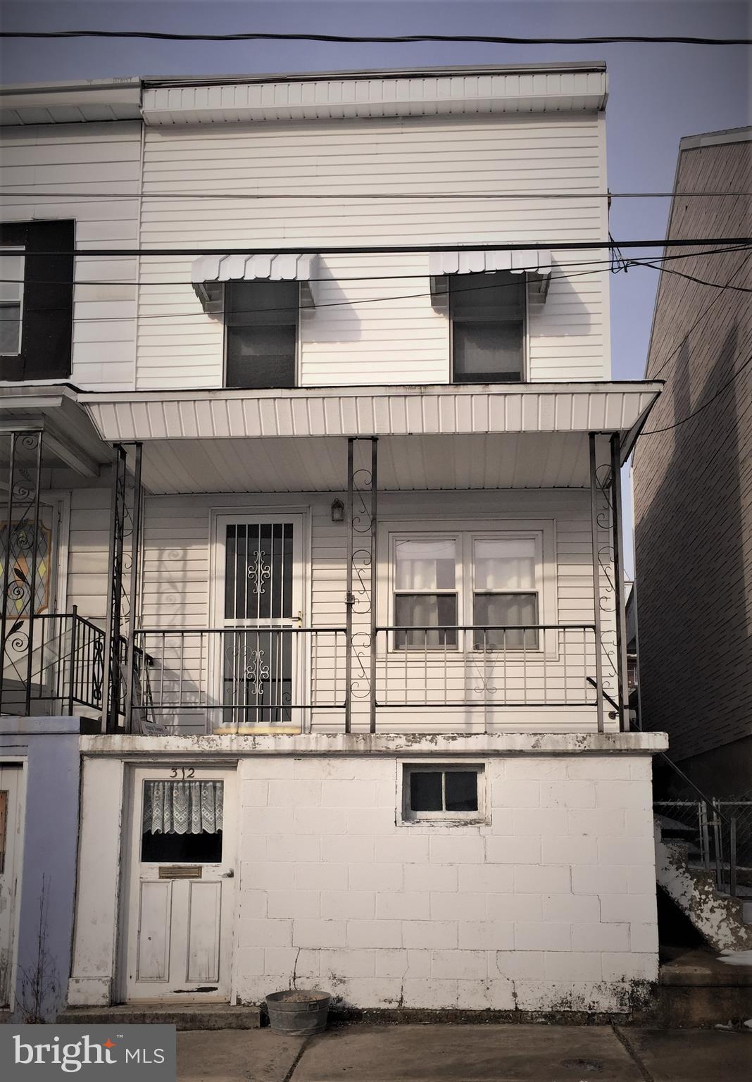 312 ARNOT STREET, SAINT CLAIR, PA 17970