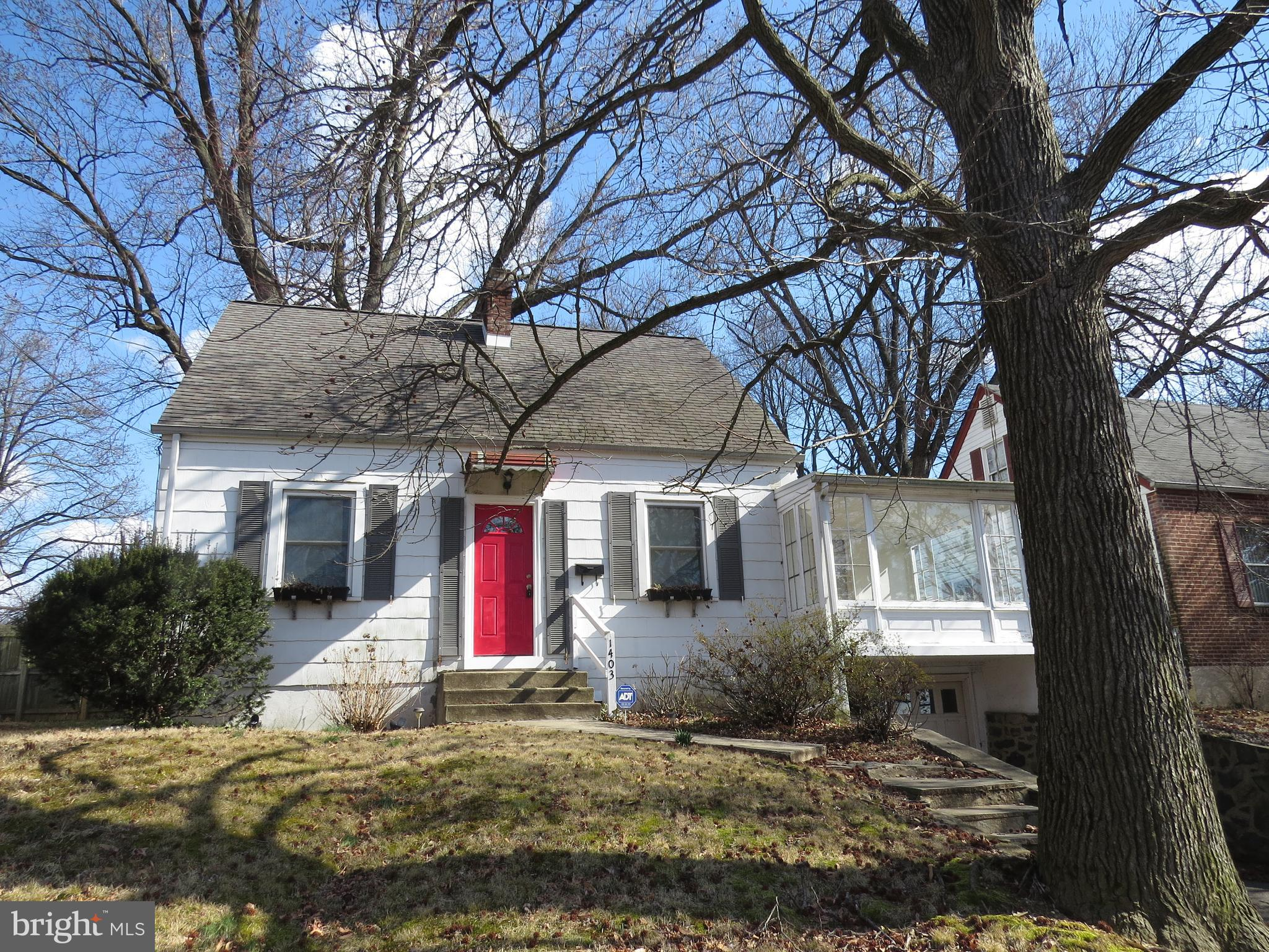 1403 HAINES AVENUE  Home Listings - John and Mary Luca Hockessin, Greenville, Newark, Middletown, Bear, North Wilmington, Wilmington, Brandywine Hundred, Pike Creek, Smyrna, Townsend, Dover, Rehoboth, Bethany, Lewes, Milford, Malvern, Avondale, Landenberg