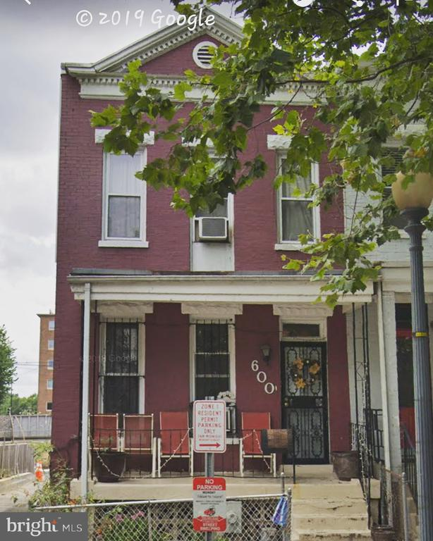 """3 spacious bedrooms, 2 and 1/2 bathrooms, High ceilings, full basement, Skylight in upper level hallway landing, Spacious table-space kitchen with 42"""" cabinets, ample storage and porch/mudroom in the rear, off-street parking and backs to Howard University's Campus. Great investment opportunity for the investor who wants to hold!  Want sweat equity?  This is a great opportunity for an owner occupant who wants to renovate to their own taste.  Sold As-Is, this is """"A raw diamond waiting for your clarity and your cut."""""""