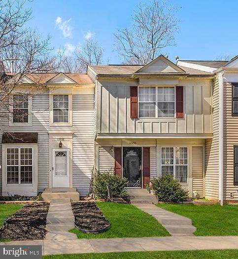 Beautiful light-filled open floor plan Lake Ridge CommunityTownhome with main floor hardwood floors, recessed lighting with energy efficient bulbs, a half bathroom, and upgraded eat-in kitchen with granite countertops, a pantry closet, and new energy efficient appliances including new dishwasher, 5-burner gas stove, and French door style refrigerator. Kitchen has sliding glass doors to spacious deck that backs to nature and water view. Hook up your gas grill to natural gas already set up on the deck. Lower-level flex space could be used as a 3rd bedroom. 2 Parking spaces in front of the home. Amenities include free access to six community pools, nature trails, and members-only discounted access to Lake Ridge Association paddle boating and kayaking just minutes away from the home. Close to commuter lots, shopping centers, Potomac Mills Mall, public transportation (1-mile).