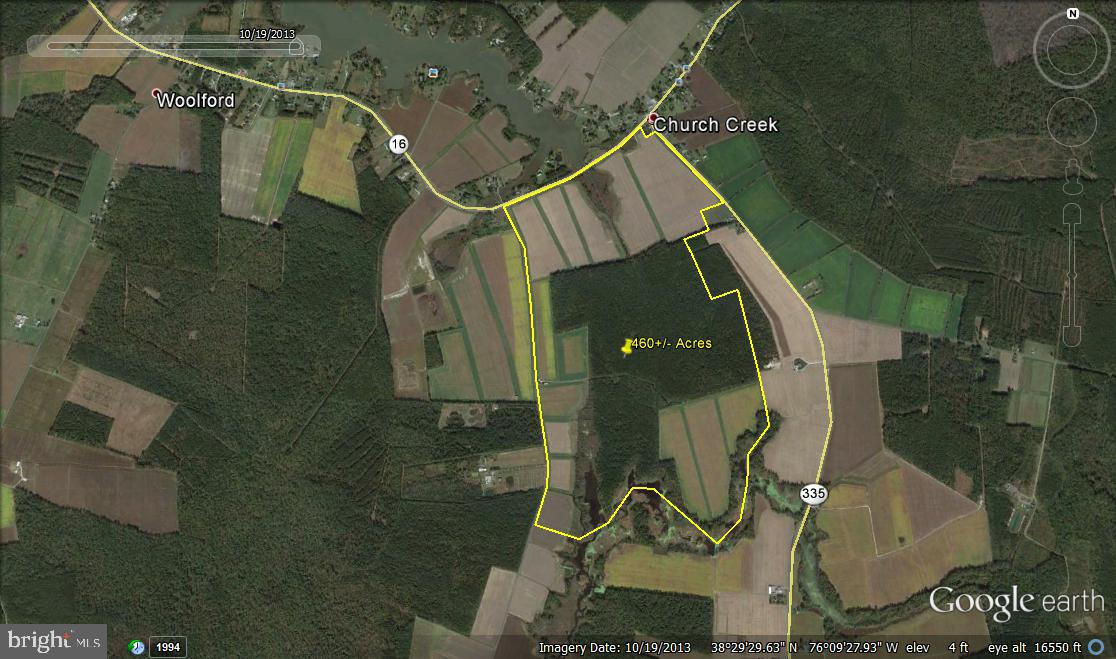 TAYLORS ISLAND ROAD, WOOLFORD, MD 21677