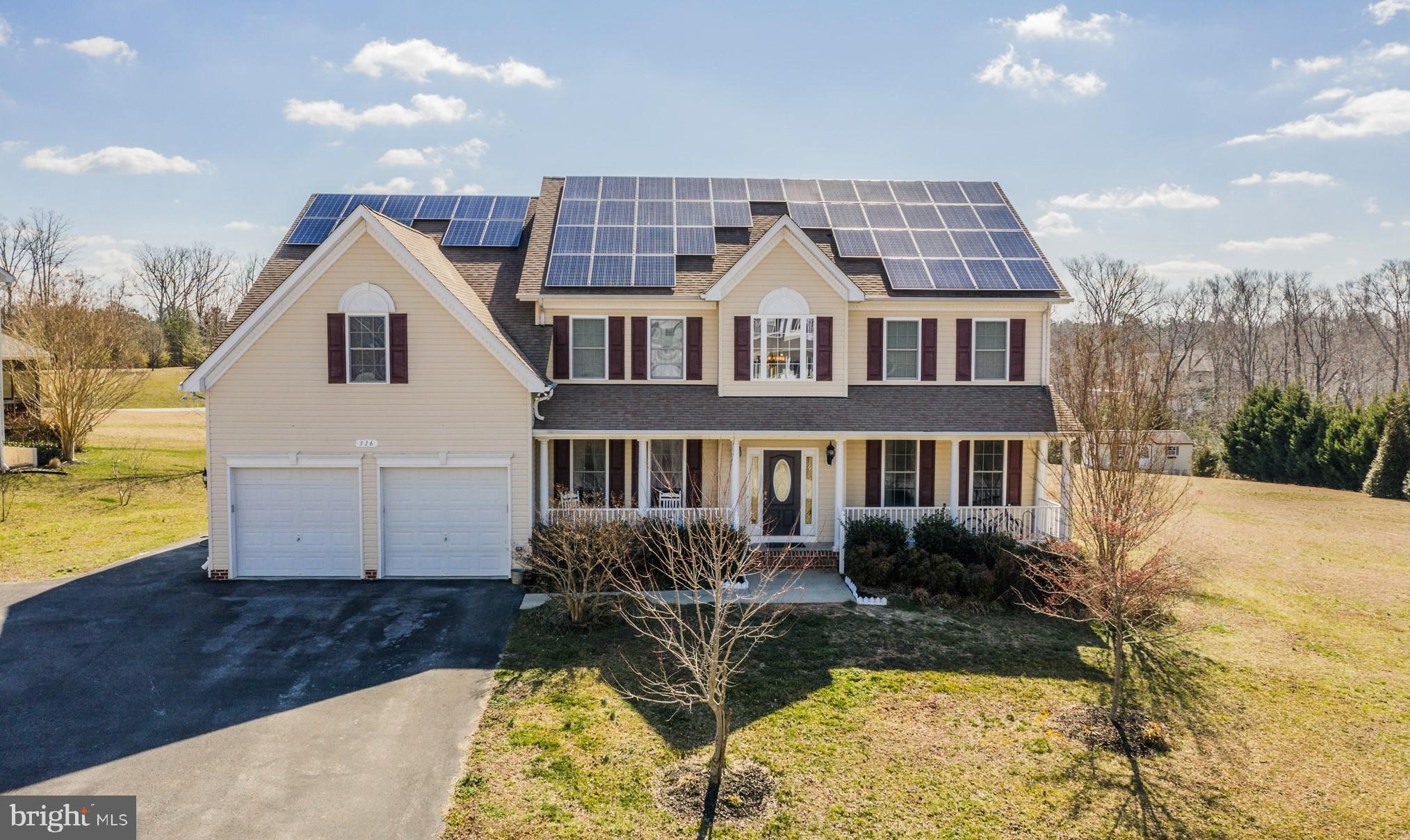 316 BANNISTER COURT, LUSBY, MD 20657