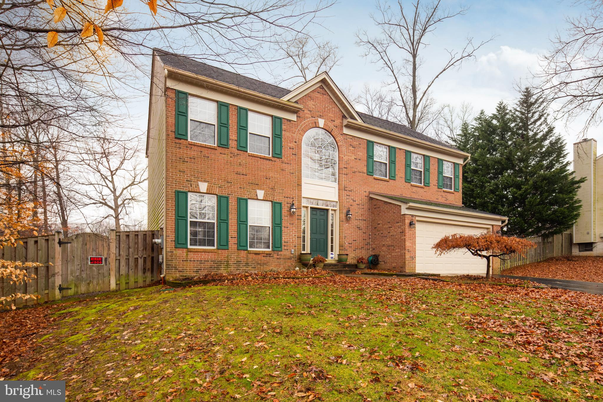 Chapel Acres is the place to be - a quiet street in sought after Springfield location.  Large lush lot ready for play, including private fenced back yard (even a separate run for the pups), can be enjoyed more often when your commute is so convenient.  Just off the Fairfax County Parkway with quick access to I-95, I-495, HOV, Metro, VRE, popular schools, shopping, parks galore and South Run Rec Center.  Everything you need and want in a neighborhood comes with an elegant home, open spaces and oversized deck just waiting for favorite friends and summer beverages.  Leave your shoes and worries in the grand two story foyer and then decide where to spread out, with room for everyone and gleaming wood floors underfoot throughout the main level.  Dream kitchen is at the heart of the home, with granite counters and stainless appliances.  All perfectly open to the family room to still chat with those gathered by the crackling wood fireplace, or for conversations to spill out onto the deck.  There are still an elegant dining room with crown molding and wainscoting, and formal living room.  Retreat to the upstairs bedrooms, all with plush carpet and ceiling fans cooling overhead. The Master suite is a prized retreat including dual closets, and spa bath with a corner soaking tub.  Finished basement is ready for exercise, game day or movie night, with the bonus convenience of a stylish room for guests and third full bath.