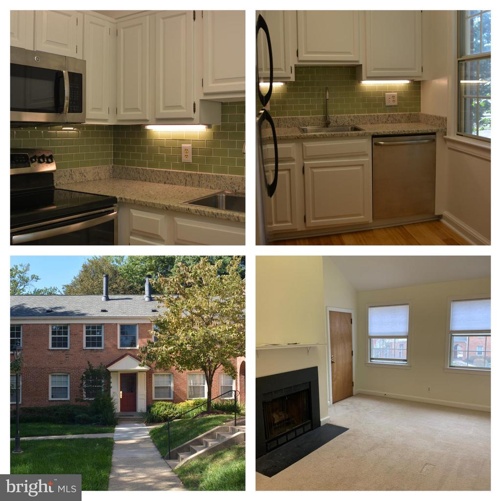 Beautiful top floor condo.  Renovated kitchen.  Cathedral ceilings.  Wood burning fire place. washer and dryer in the unit.   easy parking (no pets allowed and no smokers)