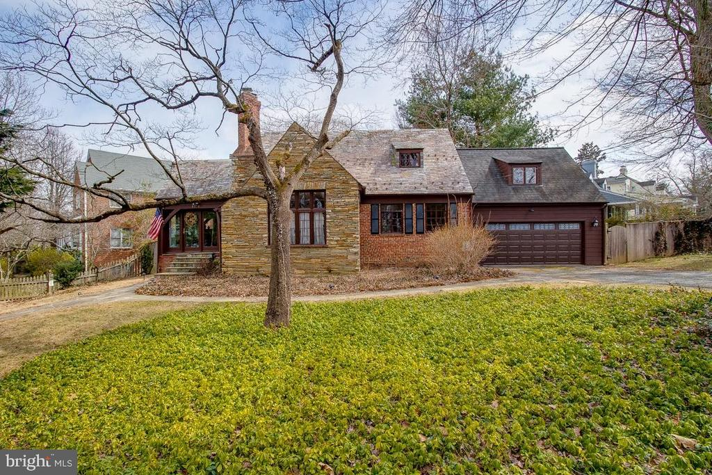 Location! Location! Location! Fabulous Stone Tudor 1 mile from 2 metro stops! Near the heart of downtown Bethesda! Tons of upgrades in a addition to the original touches of this beautiful 1930's home.