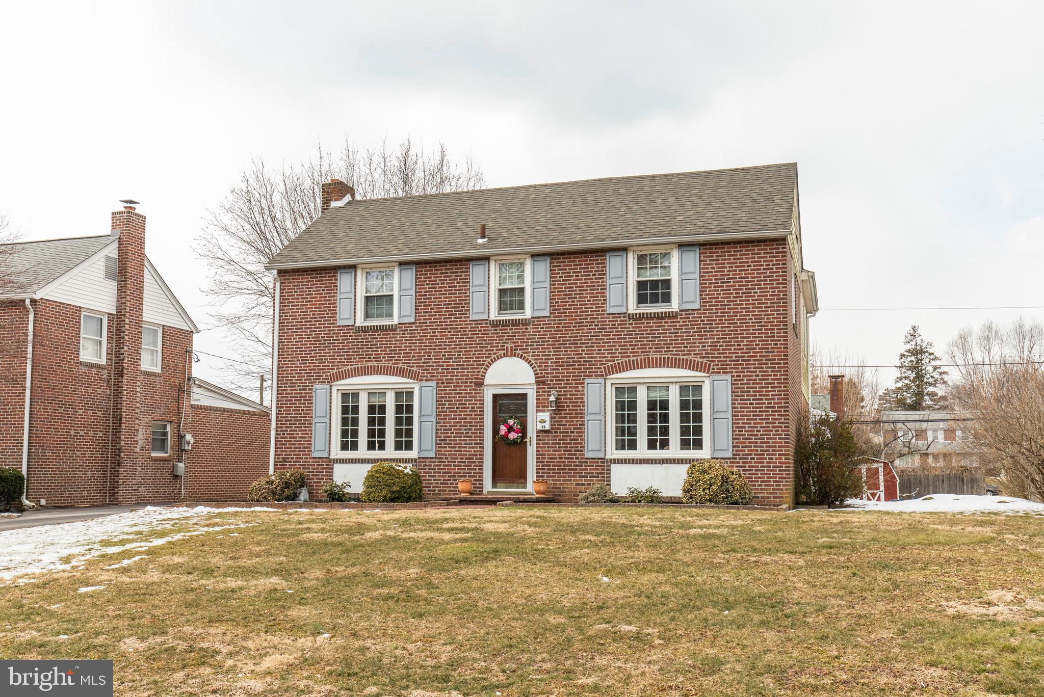 Beautifully updated, single family colonial in the heart of Springfield, PA. This large 4 BR/2BR home has been upgraded with a large, two story addition that provides over 2,100sq ft. of total living space. Highlights of this property include private master bathroom, finished basement and back deck located off of the kitchen. Driveway space and ample street parking available. Located within the Springfield school district, with plans for brand new, state-of-the-art high school to be completed by July of 2020. Schedule a time to view this turnkey property in a highly sought after neighborhood and school district.