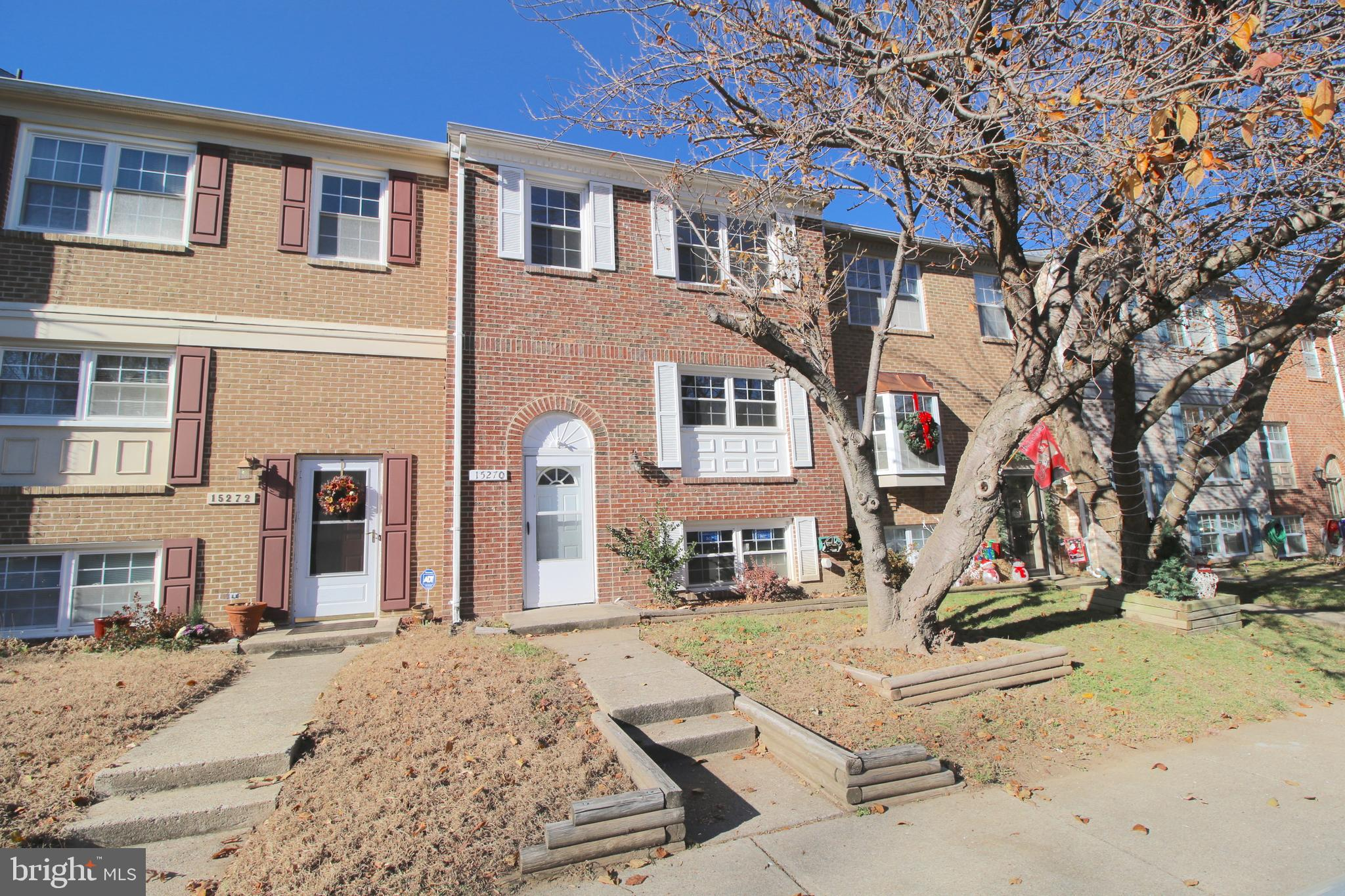 Back on the Market! Welcome Home! 3 level, 3 bedroom 3.5 bath home with fenced backyard! Large updated kitchen with granite and SS appliances and kitchen table space. Living room with lots of sun light! Upper level features 2 master bedrooms with full baths. LL features rec room 3rd bedroom and full bath! Fully fenced backyard with storage shed. Less than 1 mile from Rt 95, VRE, Commuter Lots, shopping, and dining.