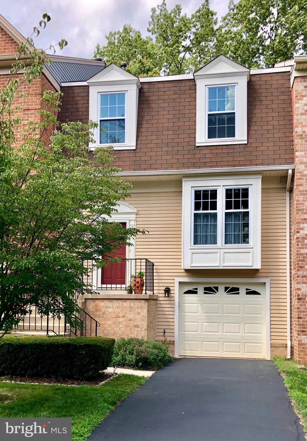 Hidden Gem nestled in nature and in a demand Location. HOA covers  Community Pool, Lawn Care, Trash & Recycling Service.  This fully remodeled home backs to serenity, privacy and trees.  Upper and Lower Decks with Privacy Fence.  Just off Rolling Road and Fairfax County Parkway for easy commute to DC.  Don't miss this house!