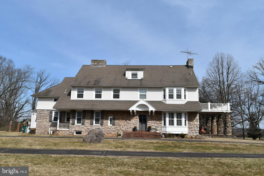 Wonderful old stone and shingle house on 9 acres with large barn/stable, newly installed  windows(2016)&siding(2016)&Deck, Dramatic kitchen with high end cabinets,commercial range, granite tops etc.fully fin.attic level. Sun porches, sleeping porches, patios. Huge rooms and fireplaces,under processing Bed & Breakfast license, Approved by HOA to be a Bed & Breakfast, riding school or private school.